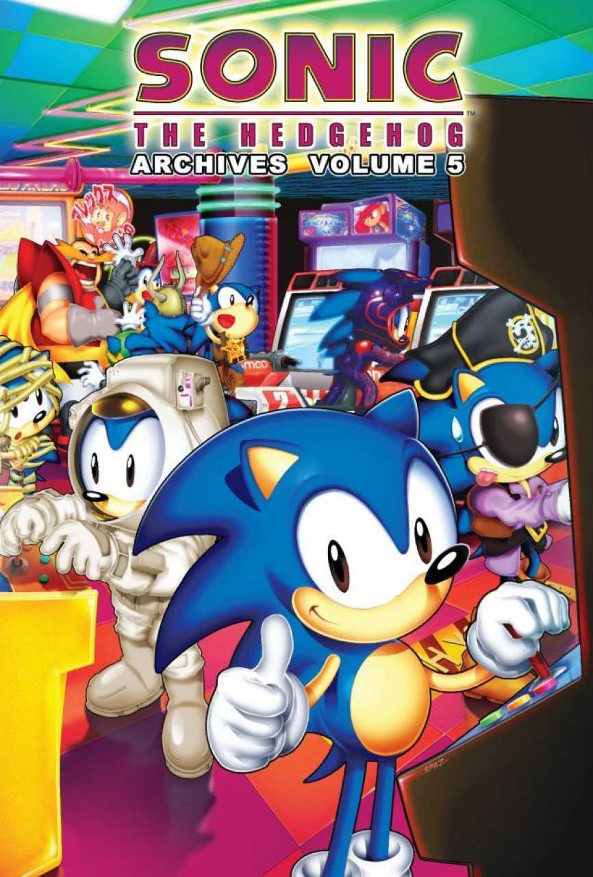 Archie Sonic Archives Volume 5 Sonic News Network