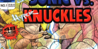 Archie Super Sonic vs. Hyper Knuckles