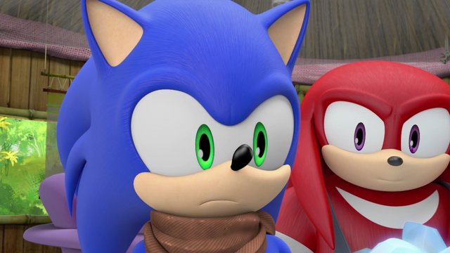 File:Sonic and Knuckles watching Amy cry.png