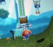 Mushmeanie Sonic Generations 3DS