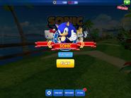 Sonic Dash Character Selection