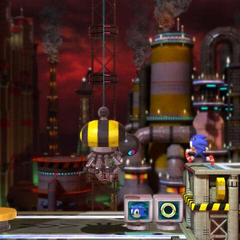 Sonic con un Grabber