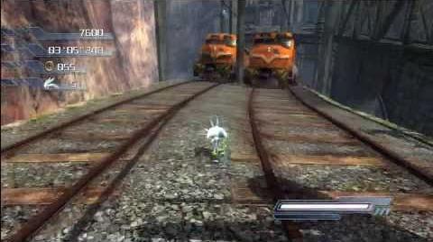 Sonic the Hedgehog 2006 Radical Train (Silver) 1080 HD