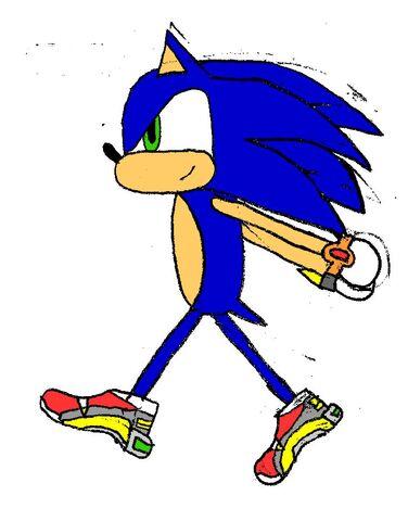 File:SA2 Sonic by Free.jpg