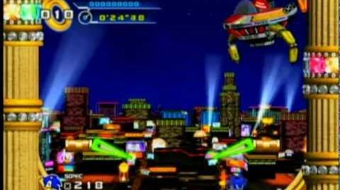 Sonic 4 - Casino Street Boss - Dr