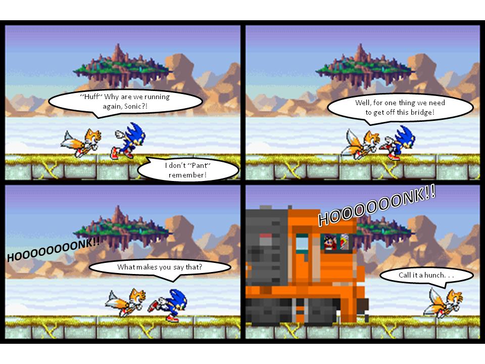 Toot Toot, Sonic Roadkill!