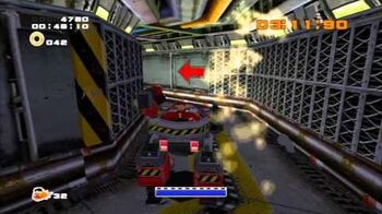 Sonic Adventure 2 (PS3) Iron Gate Mission 4 A Rank