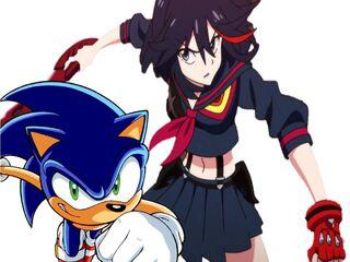 Sonic and Ryuko (3)