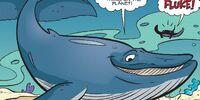 Fluke the Blue Whale