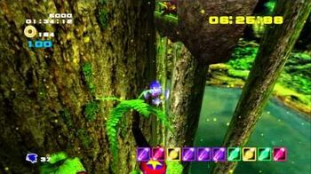 Sonic Adventure 2 (PS3) Green Forest Mission 1 A Rank