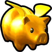 Sonic Runners Golden Piggy Bank