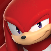 Knuckles icon (Sonic Dash 2)