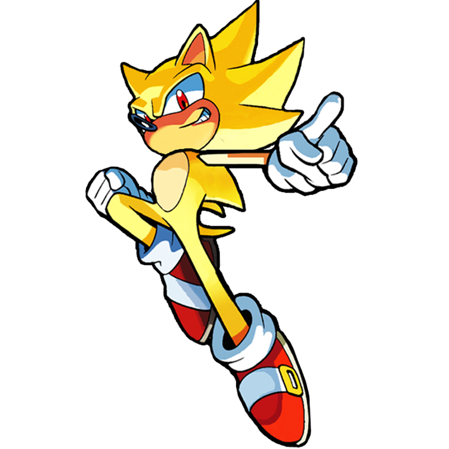 Sonic as a digimon by neosth2001 on deviantart - Super sonic 6 ...