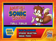 Tall-Tails-Menu-screen