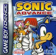 Sonic Advance Coverart