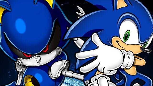 File:Metal Sonic & Sonic.jpg