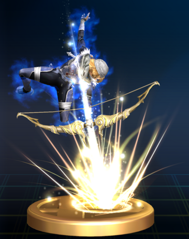 File:Light Arrow (Sheik) - Brawl Trophy.png