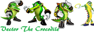 Vector the crocodile by milestailsprower8000-d4q7aua