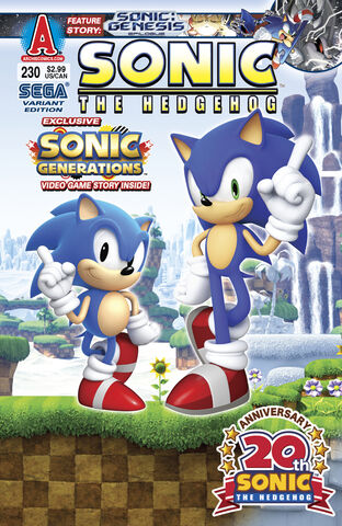 File:Archie Sonic the Hedgehog Issue 230 Back Cover.jpg