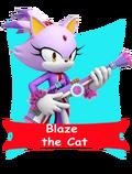 Blaze card happy