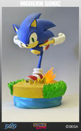 Modern Sonic First4Figs Statue