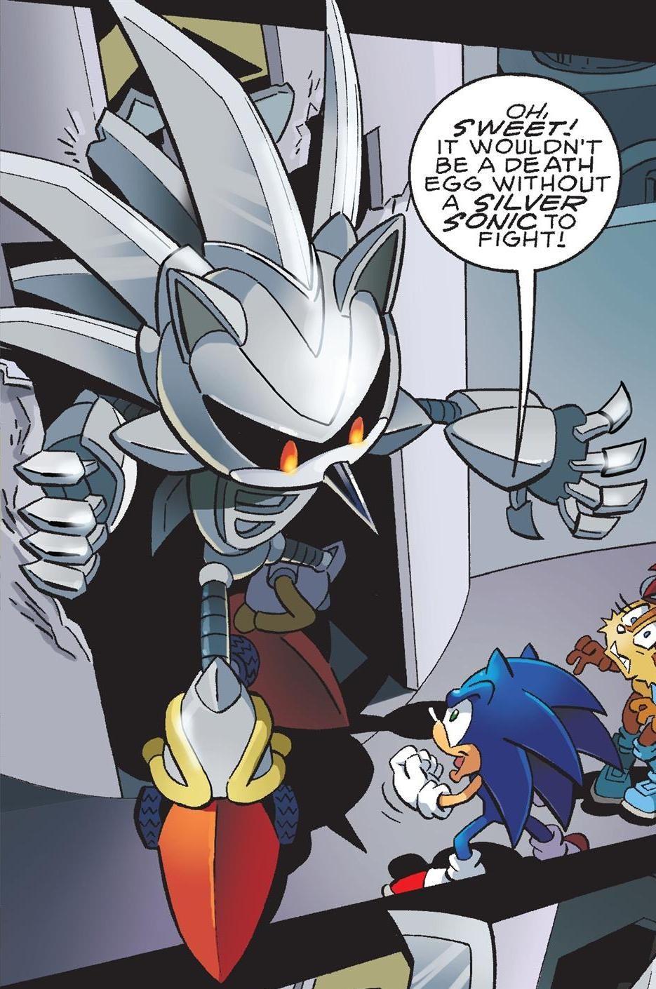 Silver Sonic v3.0 | Sonic News Network | FANDOM powered by ...