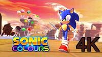 Sonic Colors - Sweet Mountain Act 2 4K HD Widescreen 60 FPS