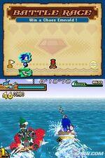 Sonic rush ad race