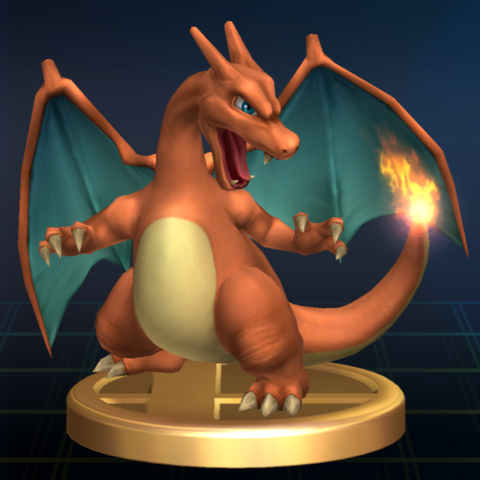File:Charizard - Brawl Trophy.png
