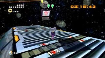 Sonic Adventure 2 (PS3) Mad Space Mission 4 A Rank