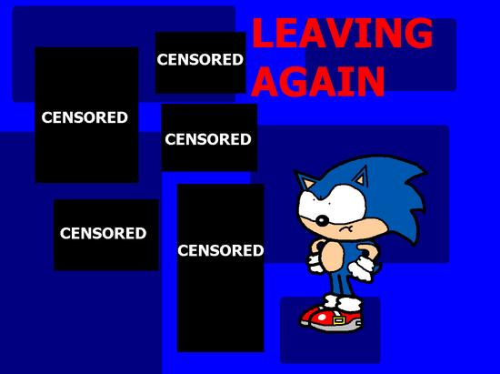 Leaving Again