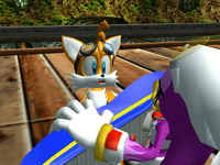 Tails is mocked Sonic Riders