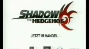 Shadow the Hedgehog TV Spot Deutsch