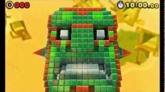Sonic Lost World (3DS) - Zomom Boss Battle (S-Rank)