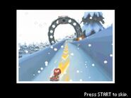 Knuckles in Luge