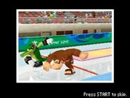 Vector and Donkey Kong competing