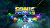 Sonic Colors Wii title
