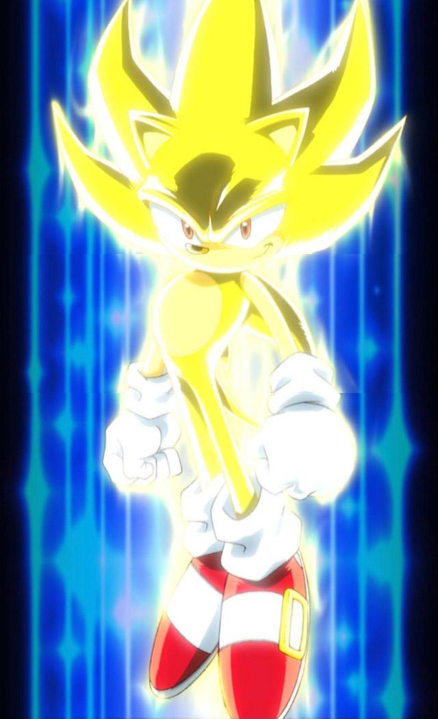 Super Sonic Sonic X  Sonic News Network  FANDOM powered by Wikia