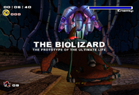 Biolizard Title Screen
