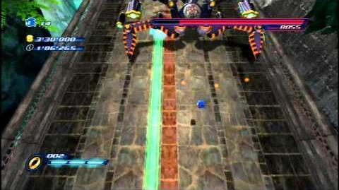 Sonic Unleashed (Wii) Egg Lancer