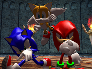 Result Screen - Terror Hall - Team Sonic
