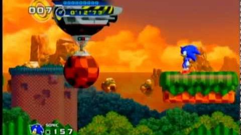 Sonic 4 - Splash Hill Boss - Showdown with Dr