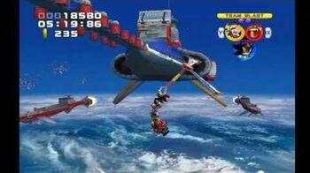 Sonic Heroes Egg Fleet (Team Dark)
