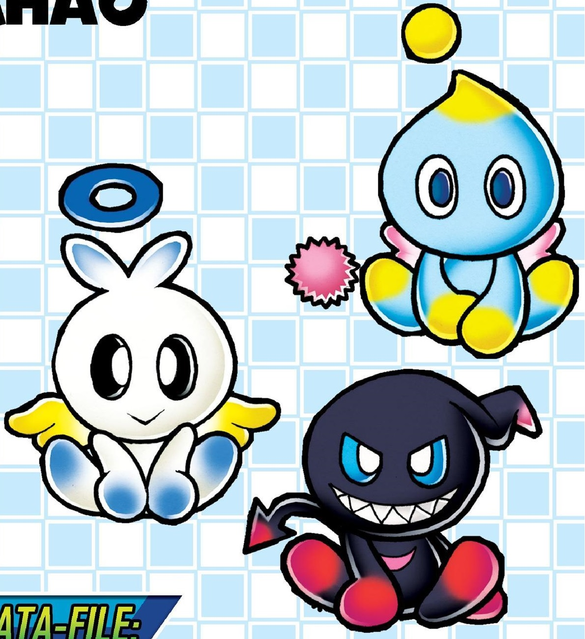 how to make fly power dark chao