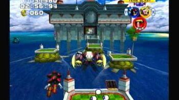 Sonic Heroes - Team Dark - Stage 2 Ocean Palace (A-Rank)