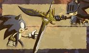 Sonic vs. Lancelot 2