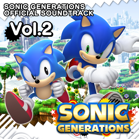 File:Sonic Generations Official Soundtrack Volume 2.png