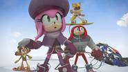 Team Sonic arrive