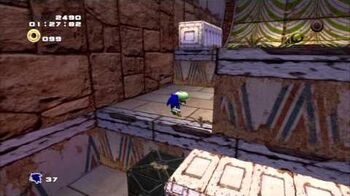 Sonic Adventure 2 (PS3) Pyramid Cave Mission 3 A Rank