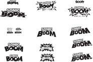 BOOM lettering studies 1000